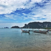 Pretty Krabi longboats.
