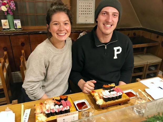 Sushi Dinner || Tokyo, Japan