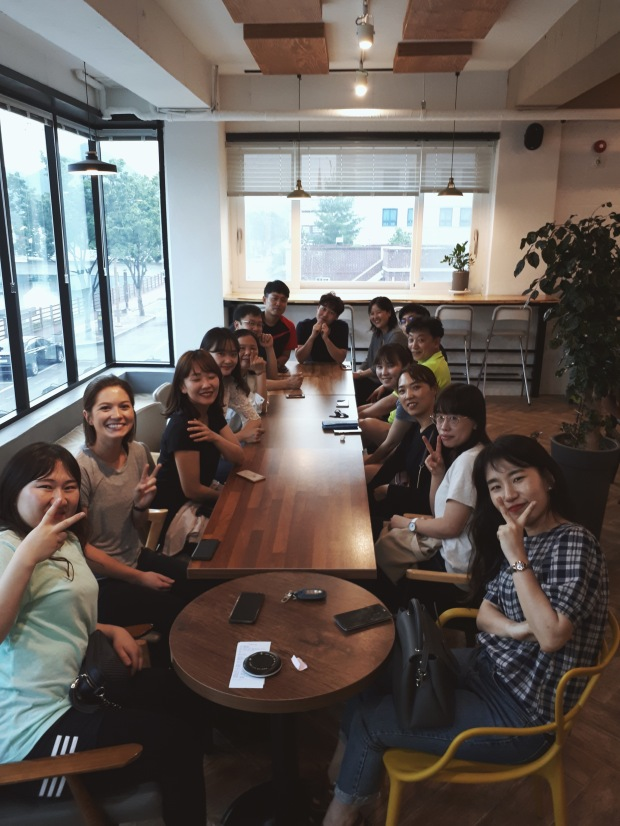 The Teacher Squad. Muju, South Korea