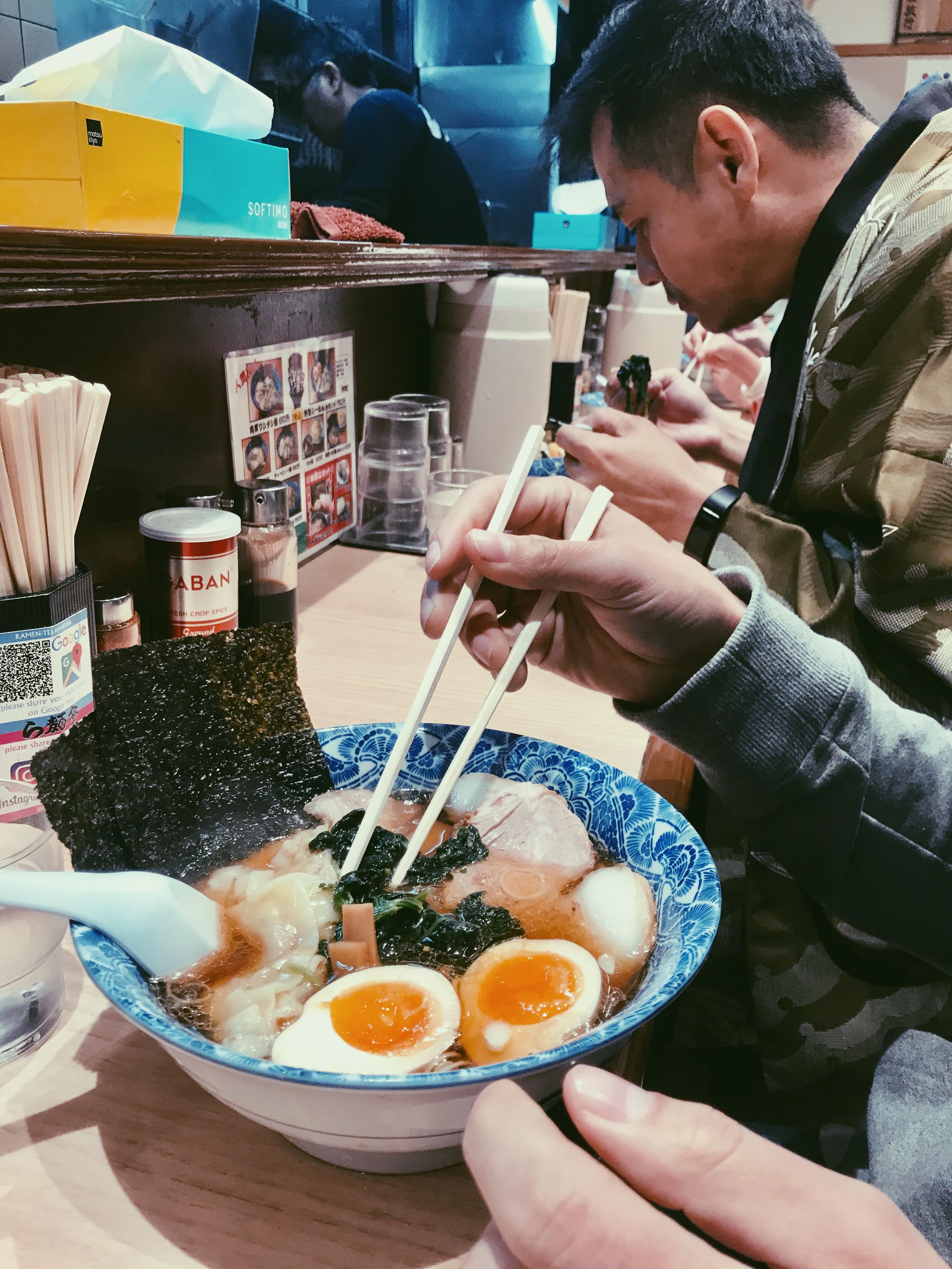 Big ramen portions. | Tokyo, Japan